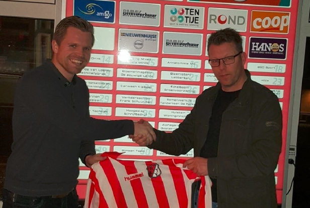 Jeroen Dekker nieuwe trainer JO19-1