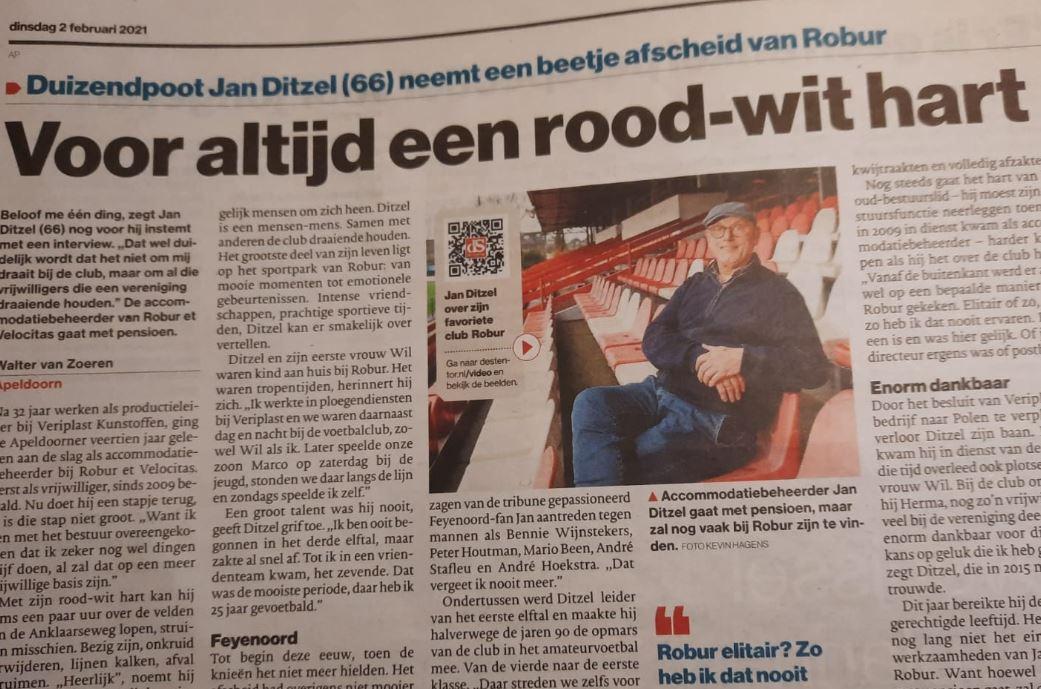 Interview met accommodatie beheerder Jan Ditzel