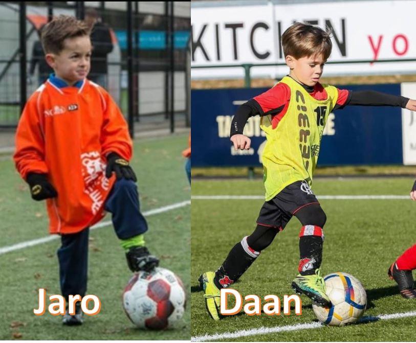 Jaro en Daan naar Vitesse