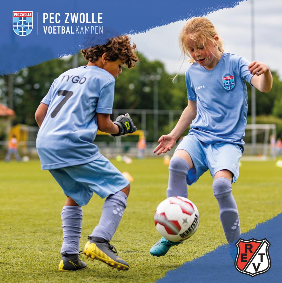 PEC Zwolle Voetbalkamp bij Robur.