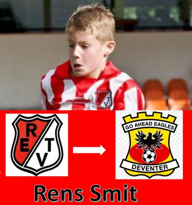 Rens Smit van Robur naar Go Ahead Eagles