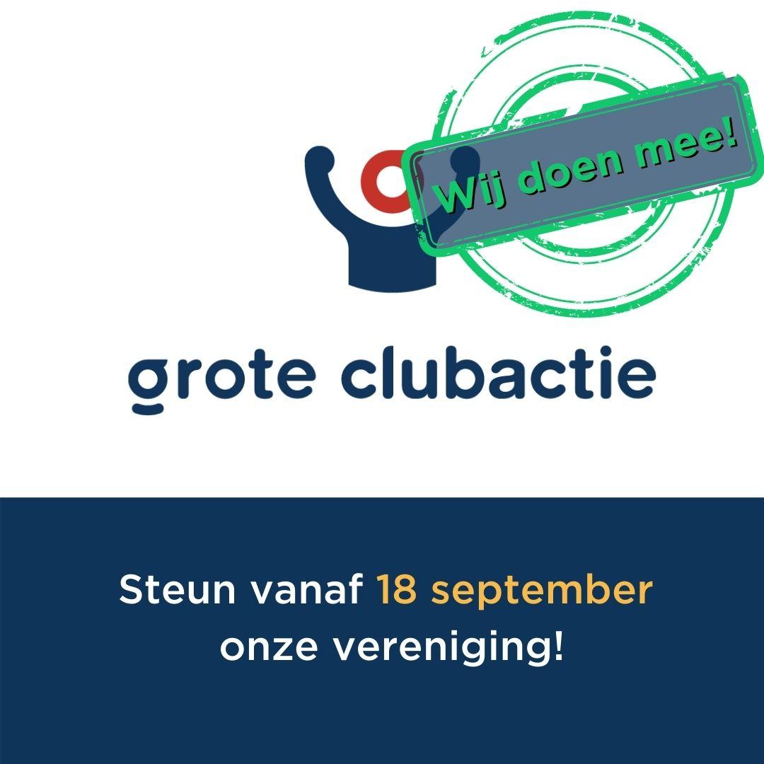Grote clubactie start zat 18 sept.